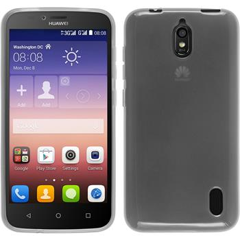 Silicone Case for Huawei Y625 transparent white
