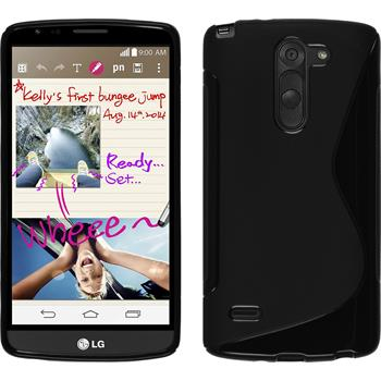 Silicone Case for LG G3 Stylus S-Style black