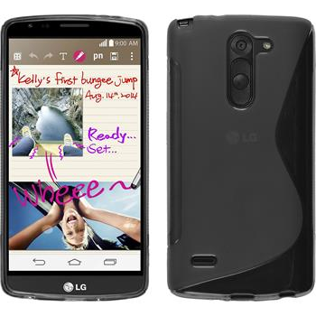 Silicone Case for LG G3 Stylus S-Style gray