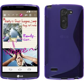 Silicone Case for LG G3 Stylus S-Style purple