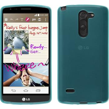 Silicone Case for LG G3 Stylus transparent turquoise