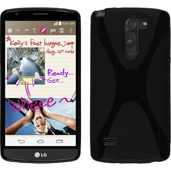 Silicone Case for LG G3 Stylus X-Style black