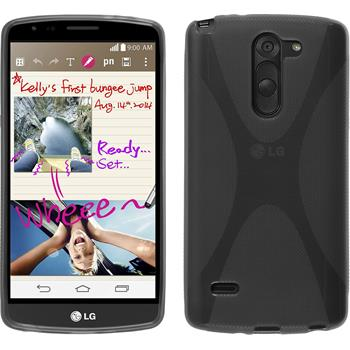 Silicone Case for LG G3 Stylus X-Style gray