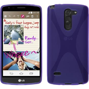 Silicone Case for LG G3 Stylus X-Style purple