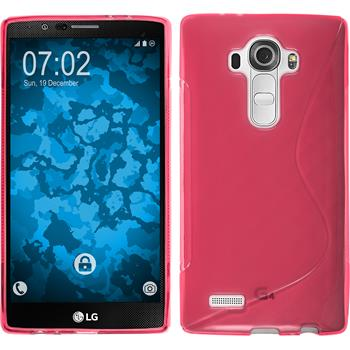 Silicone Case for LG G4 S-Style hot pink