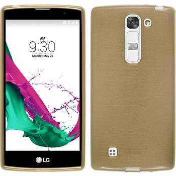Silicone Case for LG G4c brushed gold
