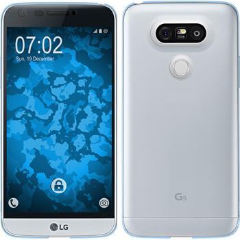 Silicone Case for LG G5 360° Fullbody light blue