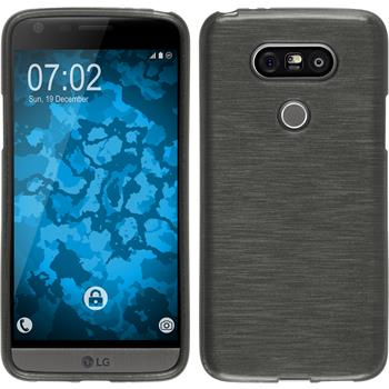Silicone Case for LG G5 brushed silver