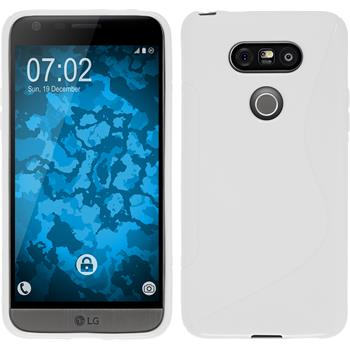Silicone Case for LG G5 S-Style white