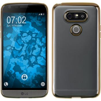 Silicone Case for LG G5 Slim Fit gold