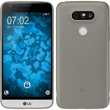 Silicone Case for LG G5 Slimcase gray