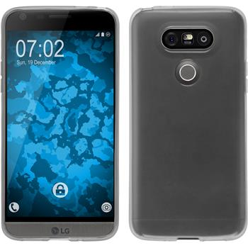 Silicone Case for LG G5 transparent white