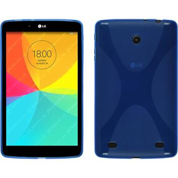 Silicone Case for LG G Pad 8.0 X-Style blue