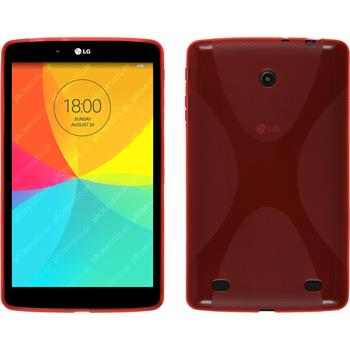 Silicone Case for LG G Pad 8.0 X-Style red