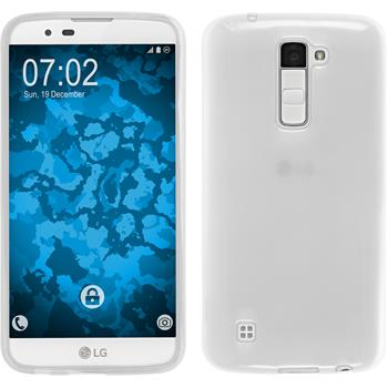 Silicone Case for LG K10 transparent white