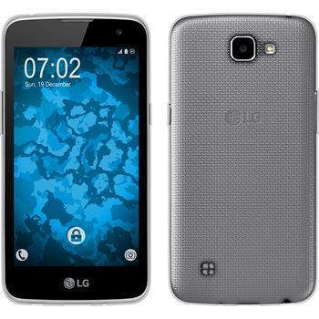 Silicone Case for LG K4 Slimcase transparent