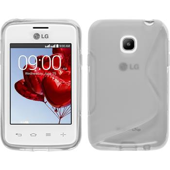 Silicone Case for LG L20 S-Style transparent