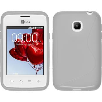 Silicone Case for LG L20 S-Style white