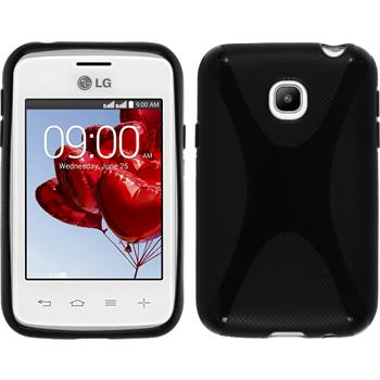Silicone Case for LG L20 X-Style black
