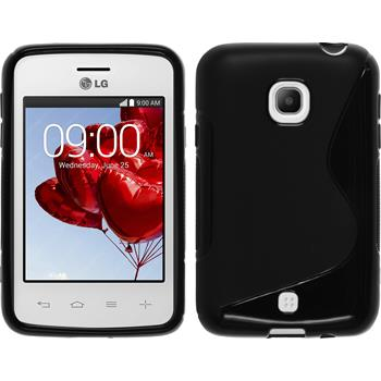 Silicone Case for LG L30 S-Style black