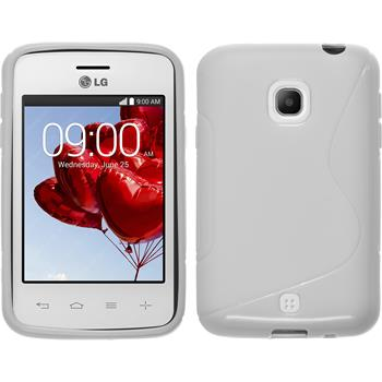 Silicone Case for LG L30 S-Style white