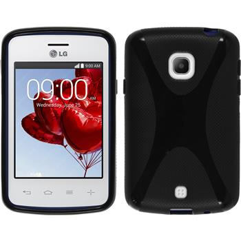 Silicone Case for LG L30 X-Style black