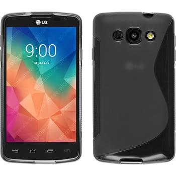 Silicone Case for LG L60 S-Style gray