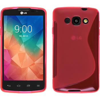 Silicone Case for LG L60 S-Style hot pink