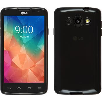 Silicone Case for LG L60 transparent black