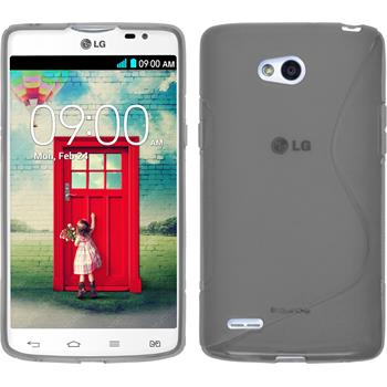 Silicone Case for LG L80 Dual S-Style gray
