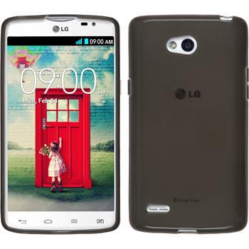 Silicone Case for LG L80 Dual transparent black