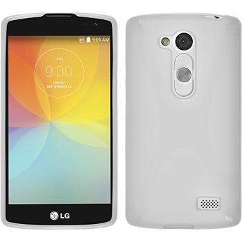 Silicone Case for LG L Fino X-Style white