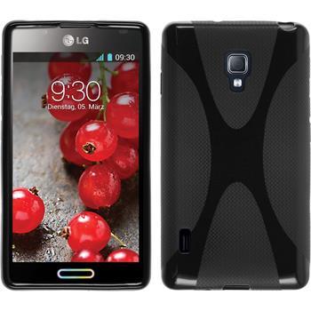 Silicone Case for LG Optimus L7 II X-Style black