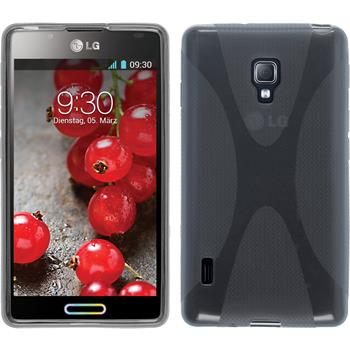 Silicone Case for LG Optimus L7 II X-Style gray