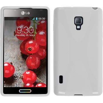 Silicone Case for LG Optimus L7 II X-Style white