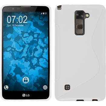 Silicone Case for LG Stylus 2 S-Style white