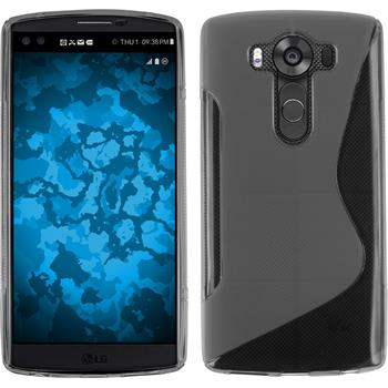 Silicone Case for LG V10 S-Style transparent