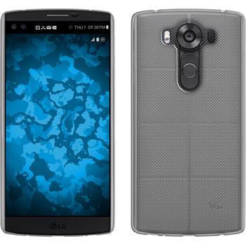 Silicone Case for LG V10 Slimcase transparent