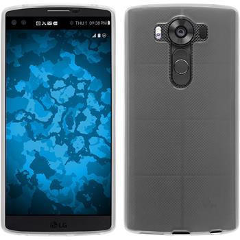 Silicone Case for LG V10 transparent white