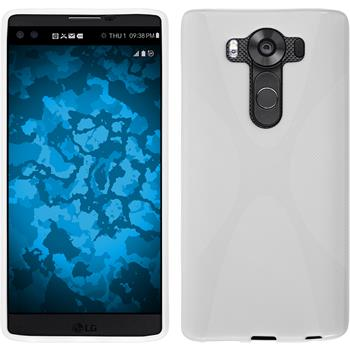 Silicone Case for LG V10 X-Style white