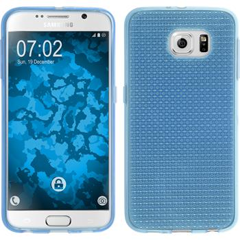 Silicone Case for Samsung Galaxy S6 Iced light blue