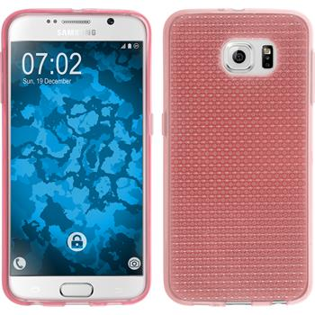 Silicone Case for Samsung Galaxy S6 Iced pink