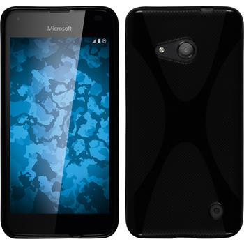 Silicone Case for Microsoft Lumia 550 X-Style black