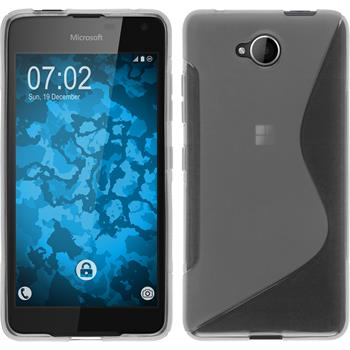 Silicone Case for Microsoft Lumia 650 S-Style transparent