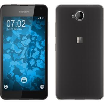 Silicone Case for Microsoft Lumia 650 Slimcase gray