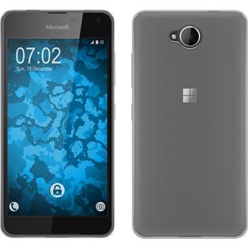Silicone Case for Microsoft Lumia 650 Slimcase transparent