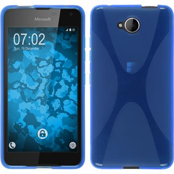 Silicone Case for Microsoft Lumia 650 X-Style blue