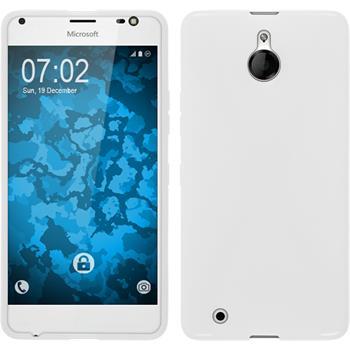 Silicone Case for Microsoft Lumia 850 X-Style white