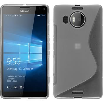 Silicone Case for Microsoft Lumia 950 XL S-Style transparent