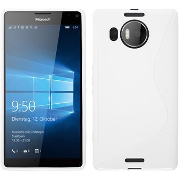 Silicone Case for Microsoft Lumia 950 XL S-Style white